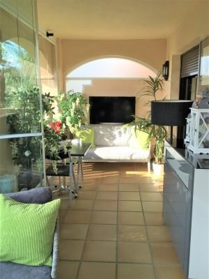 """Este atractivo apartamento de 2 dormitorios y 2 baños se encuentra en el popular complejo de golf  """"La Noria"""""""