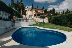 7 Bedroom 4 Bathroom detached villa on the outskirts of Mijas Pueblo.