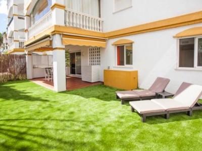 781875 - Appartement met tuin for sale in Puerto Banús, Marbella, Málaga, Spanje