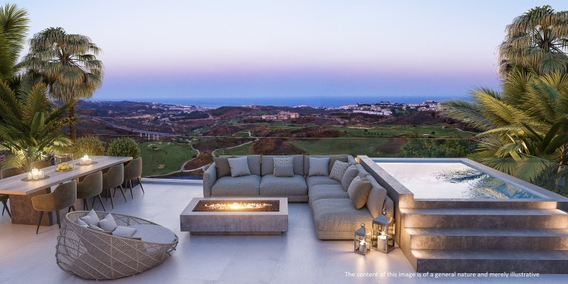 ONE RESIDENCES - Penthouse Terrace Disclaimer