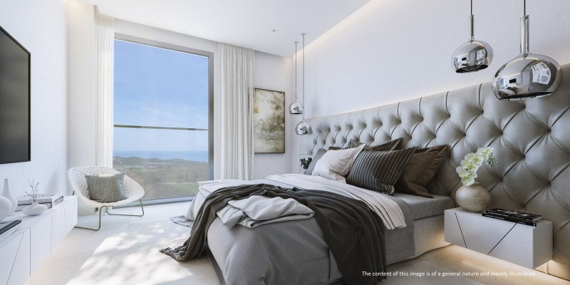 ONE RESIDENCES - Bedroom Disclaimer