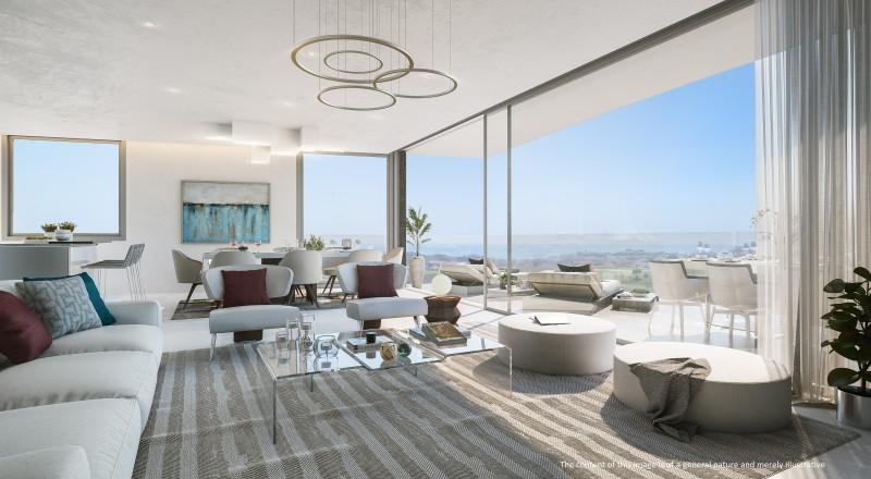 ONE RESIDENCES - Living Room Disclaimer
