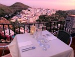 table for 2 with Views to Frigiliana