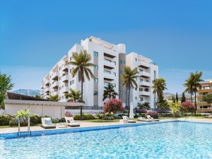 Garden Apartment Sprzedaż Nieruchomości w Hiszpanii in Algarrobo Costa, Algarrobo, Málaga, Hiszpania