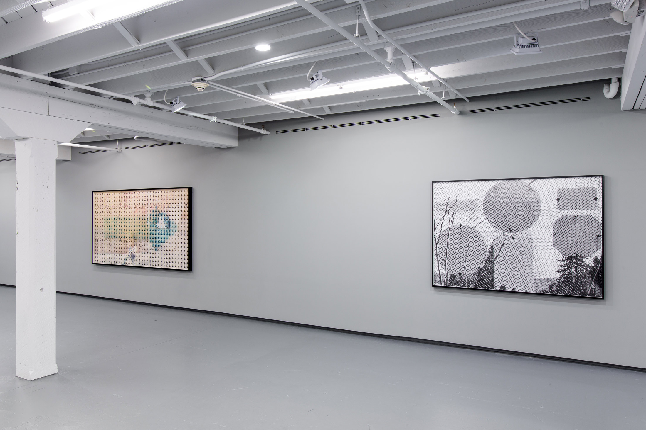 Installation View: Shannon Ebner, A Public Character, 2015, at ICA Miami