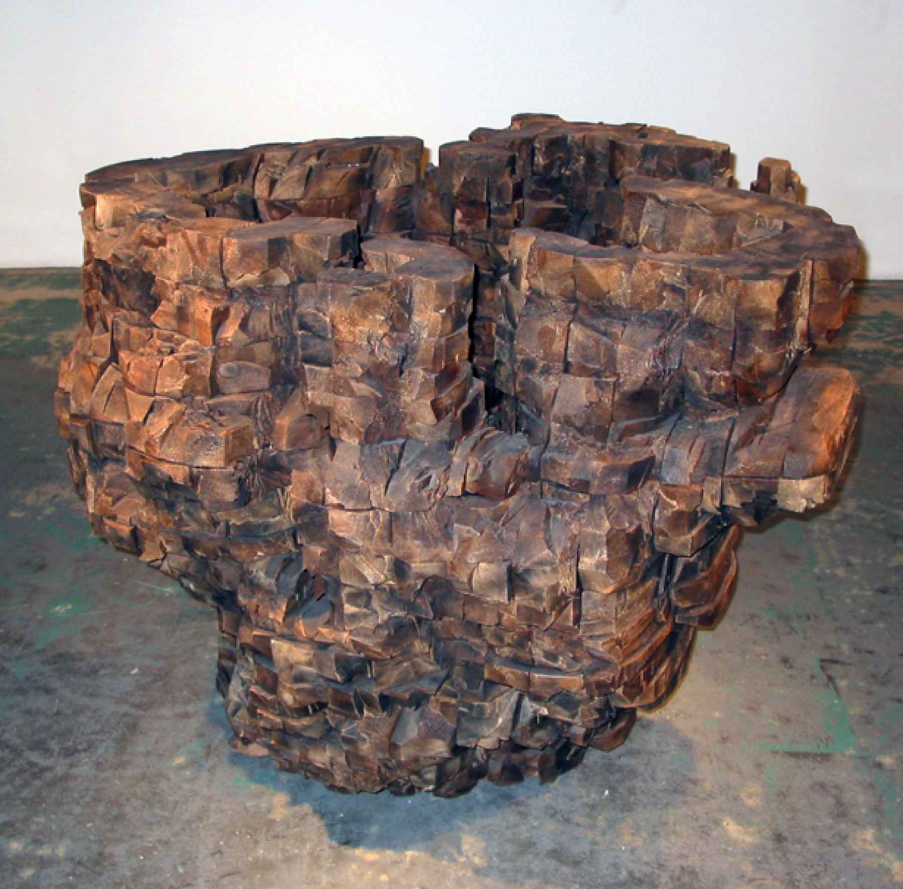 Image of Ursula von Ryndingsvard, Untitled (Big Bowl), 1998