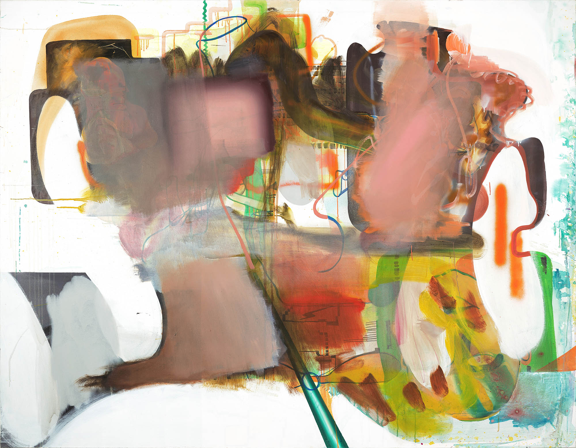 Albert Oehlen, Ohne Titel, 2005