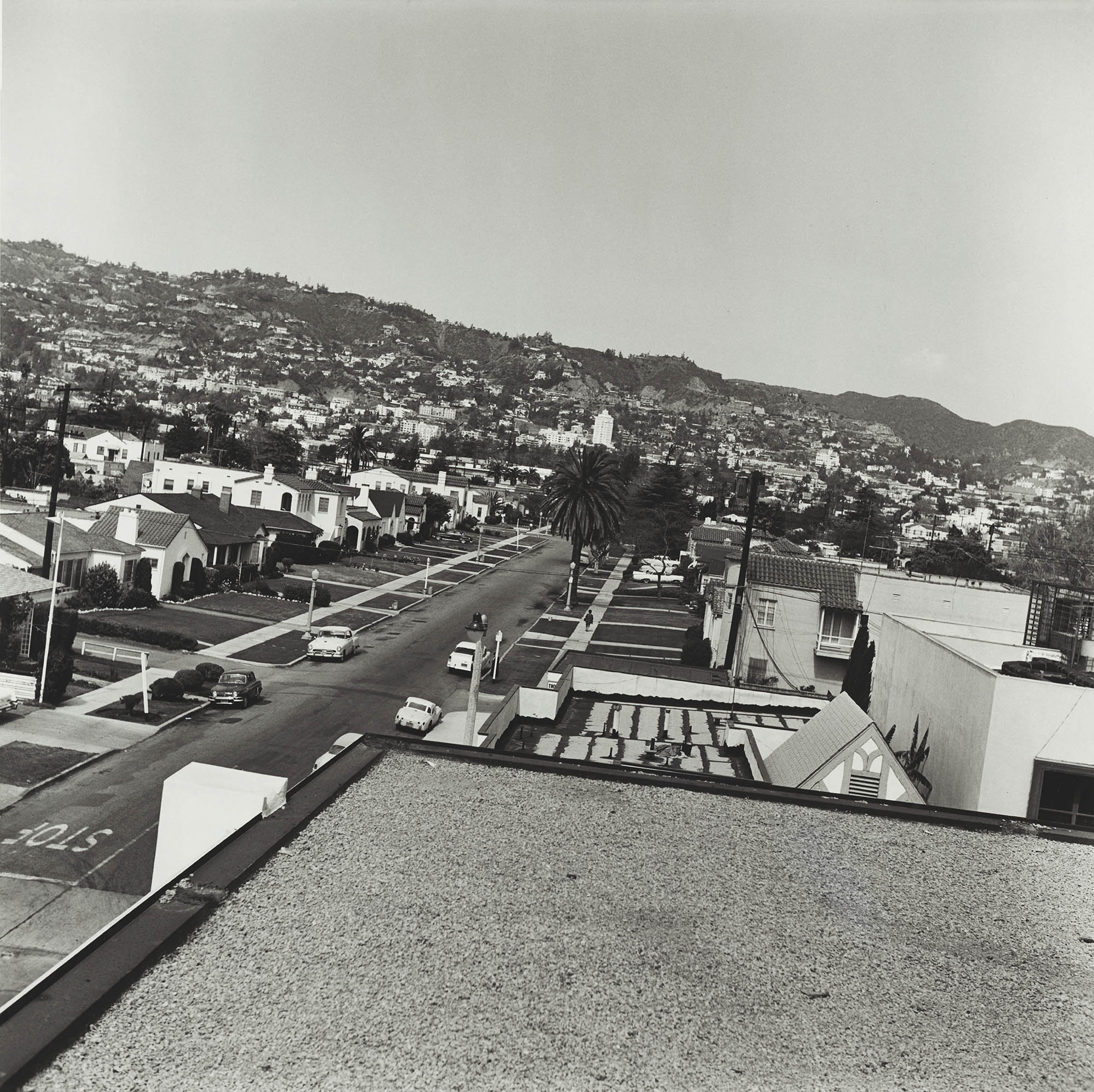 Image of Ed Ruscha, Rooftops, 1961