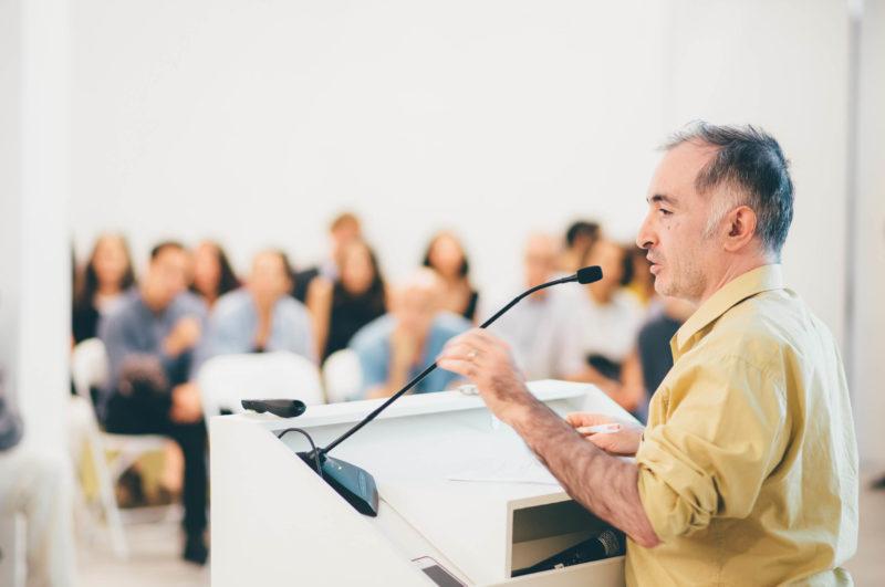 ICA Ideas: Suhail Malik Lecture. Photos: Javier Sanchez.
