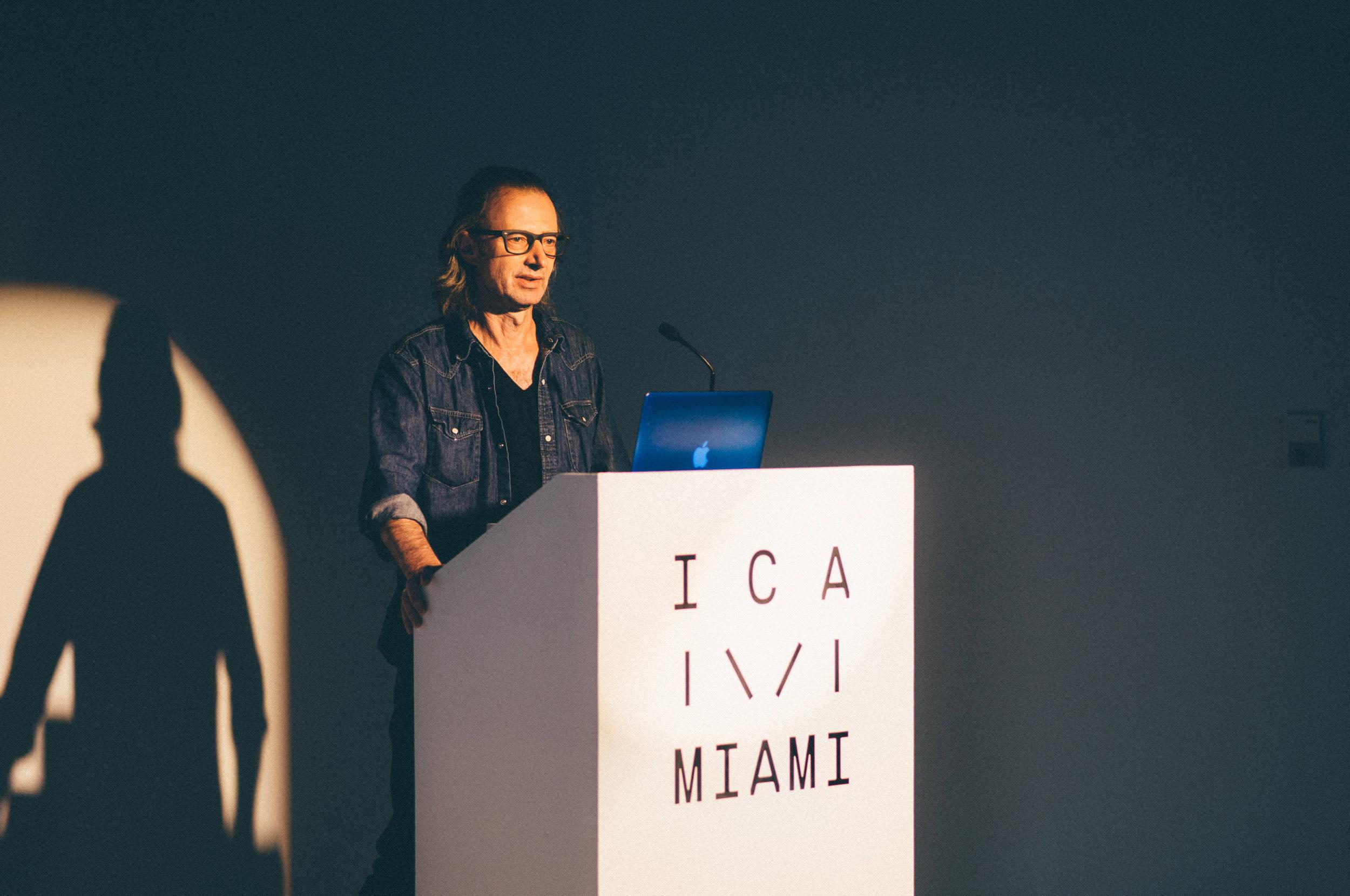 ICA Speaks: John Miller