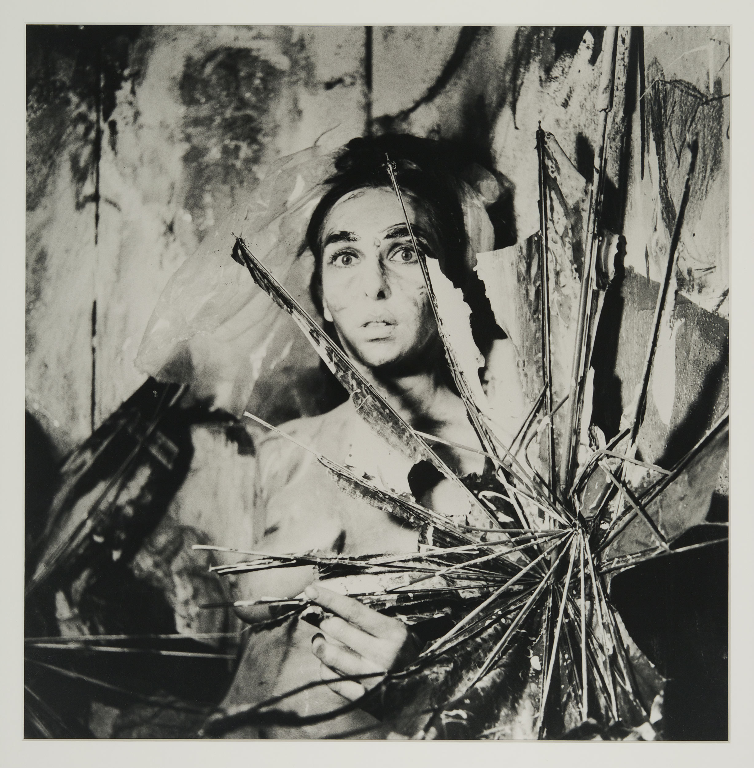 Image of photographs by Carolee Schneemann, Eye Body: 36 Transformative Actions for the Camera, 1963­‐1973