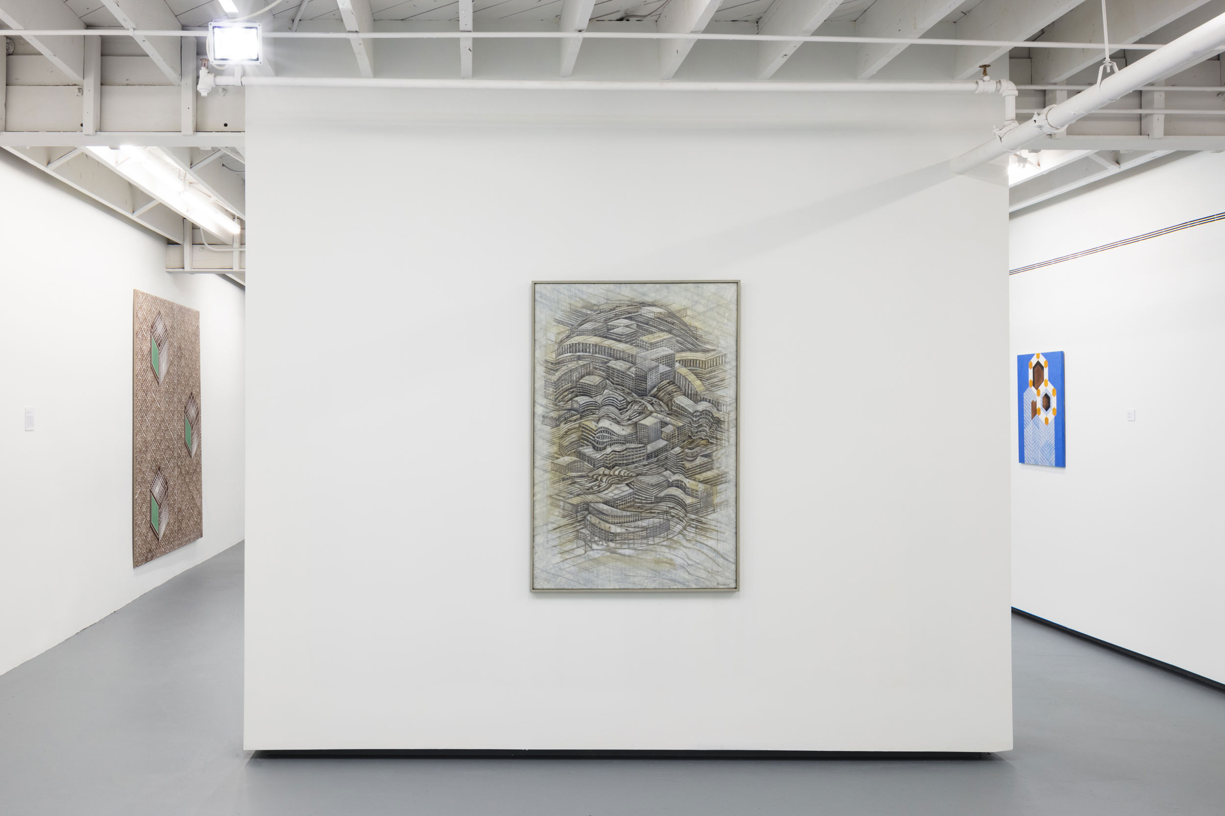 Installation view: Thomas Bayrle