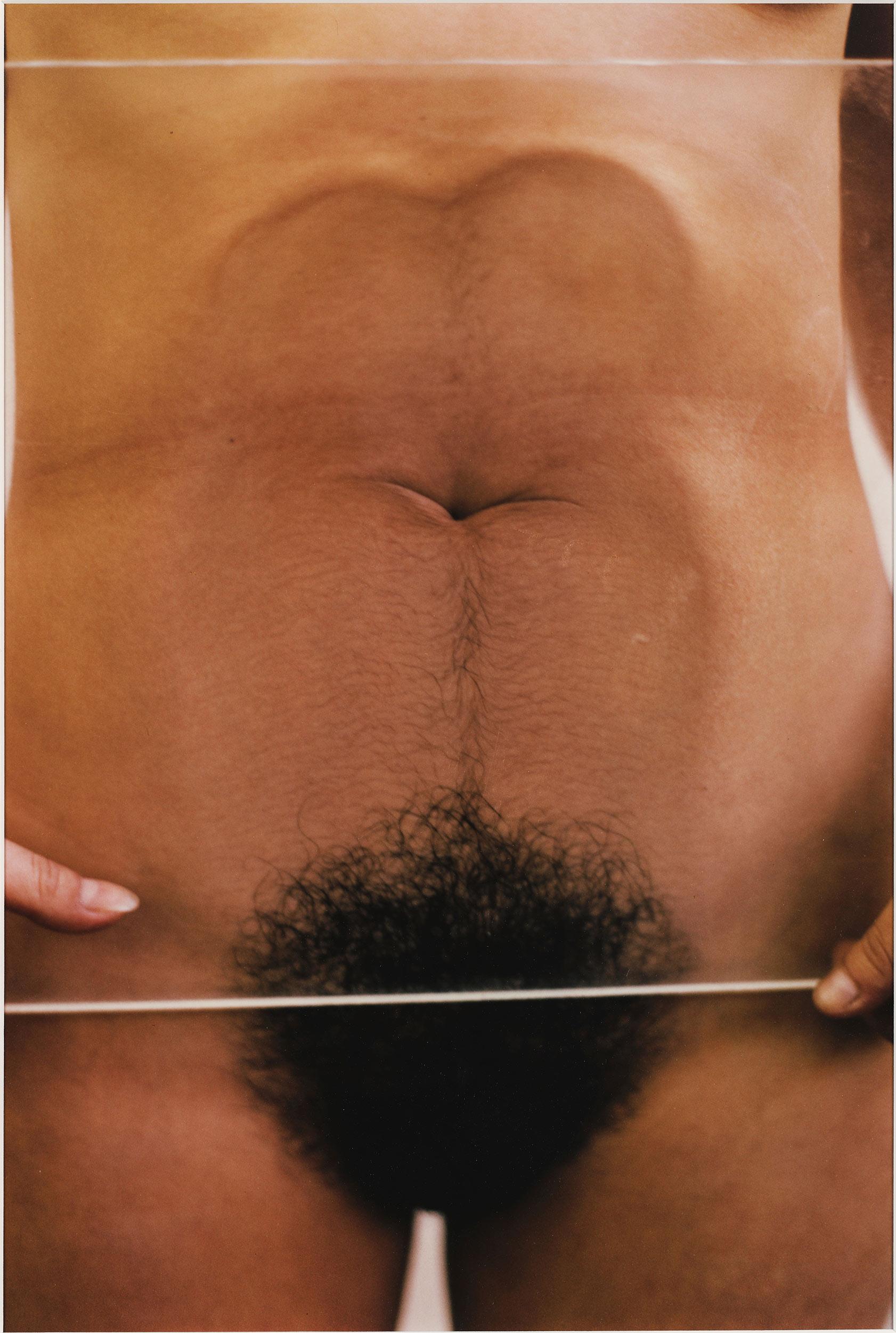 Ana Mendieta, Untitled (Glass on Body), 1972.