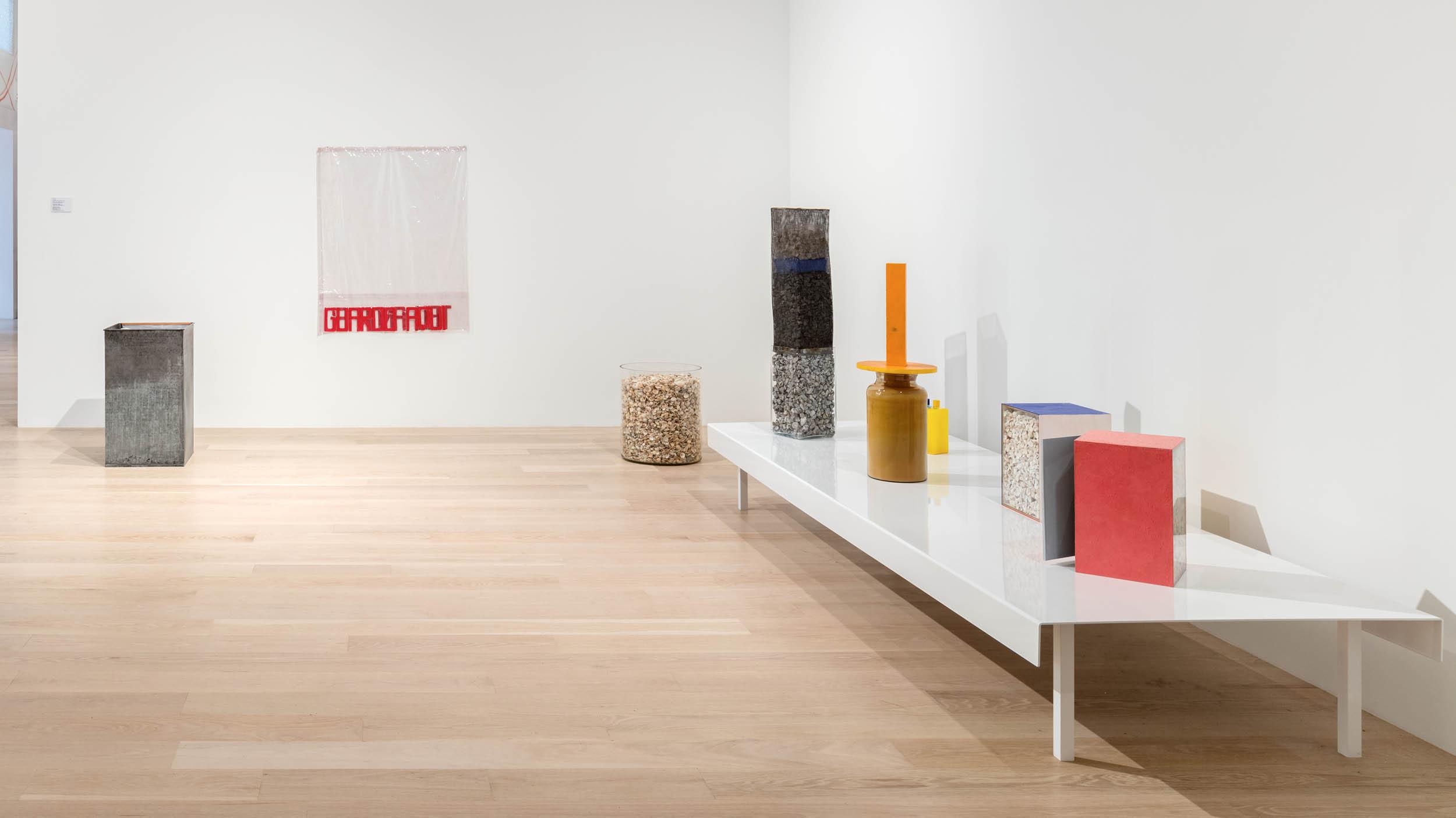 contemporary art furniture. Installation View: Hélio Oiticia, \ Contemporary Art Furniture