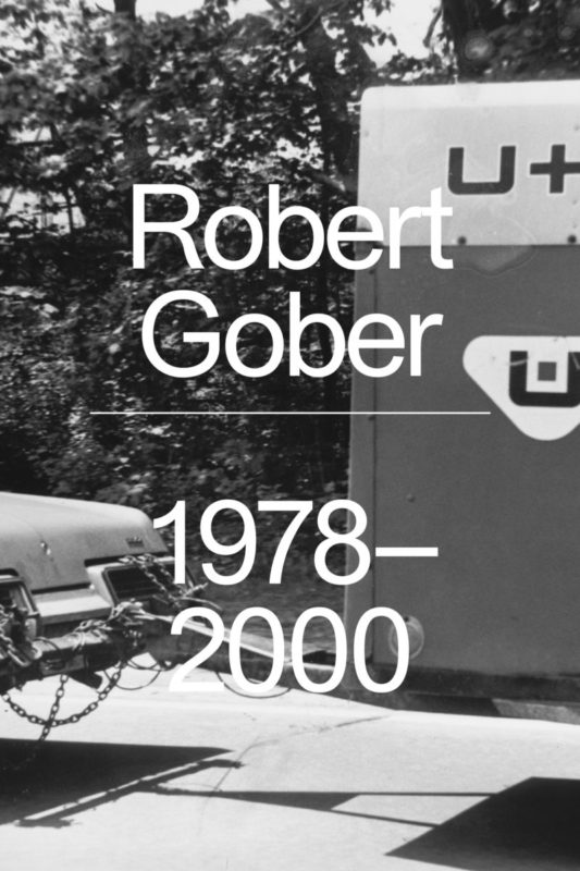 Robert Gober Catalogue Cover