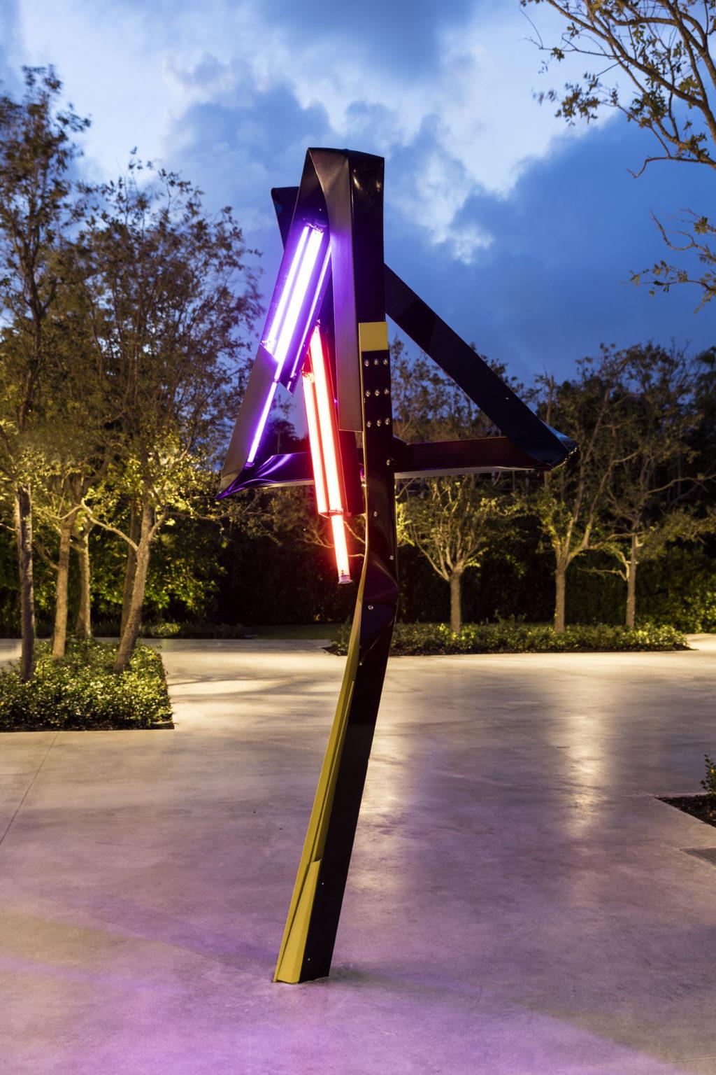 Installation view Mark Handforth, Dr Pepper, 2017 at ICA Miami