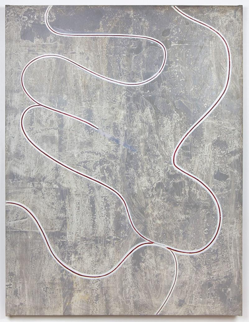 Donald Judd, 1960. Oil/liquitex on canvas. Courtesy Judd Foundation, New York.