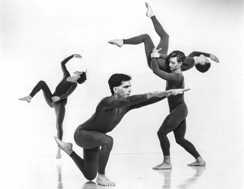Trisha Brown Dance Company, Newark, 1987. Photo: Jack Mitchell.