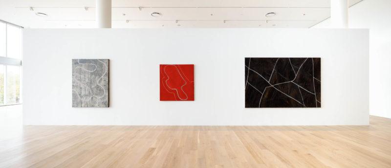 """Donald Judd: Paintings."" Installation view: Institute of Contemporary Art, Miami, Apr 5 – Jun 24, 2018. Photo: Fredrik Nilsen Studio."