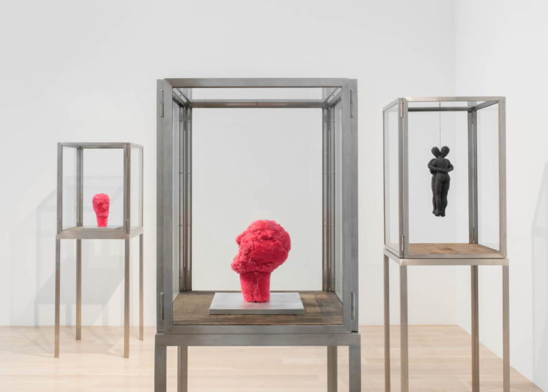 Installation view: Louise Bourgeois at Institute of Contemporary Art, Miami. Jul 13, 2018 – Jan 6, 2019. Photo: Fredrik Nilsen Studio. © The Easton Foundation/VAGA at Artists Rights Society (ARS), NY.