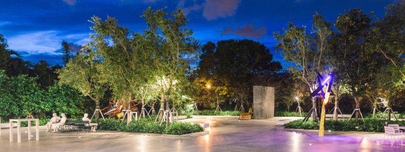 ICA Miami Sculpture Garden, photo by Javier Sanchez.