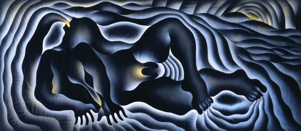 Image of Judy Chicago, Earth Birth, 1983