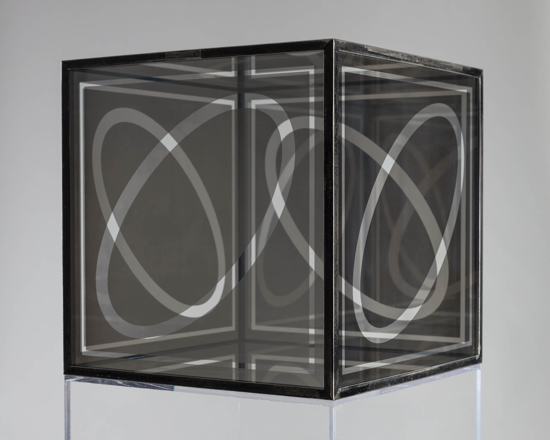 Image of Larry Bell, Untitled (Cube 12