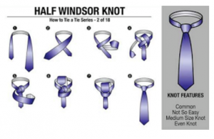 Half Windsor Knot