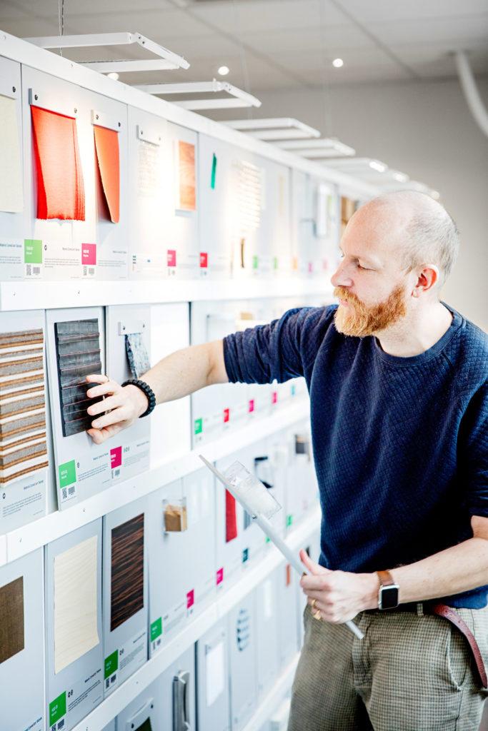 Anders Breitholtz i Material ConneXion
