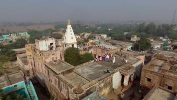 Temple at Javat, Indradyumna Swami Parikrama 2015
