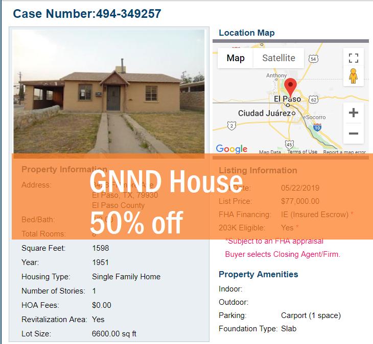 GNND House in El Paso