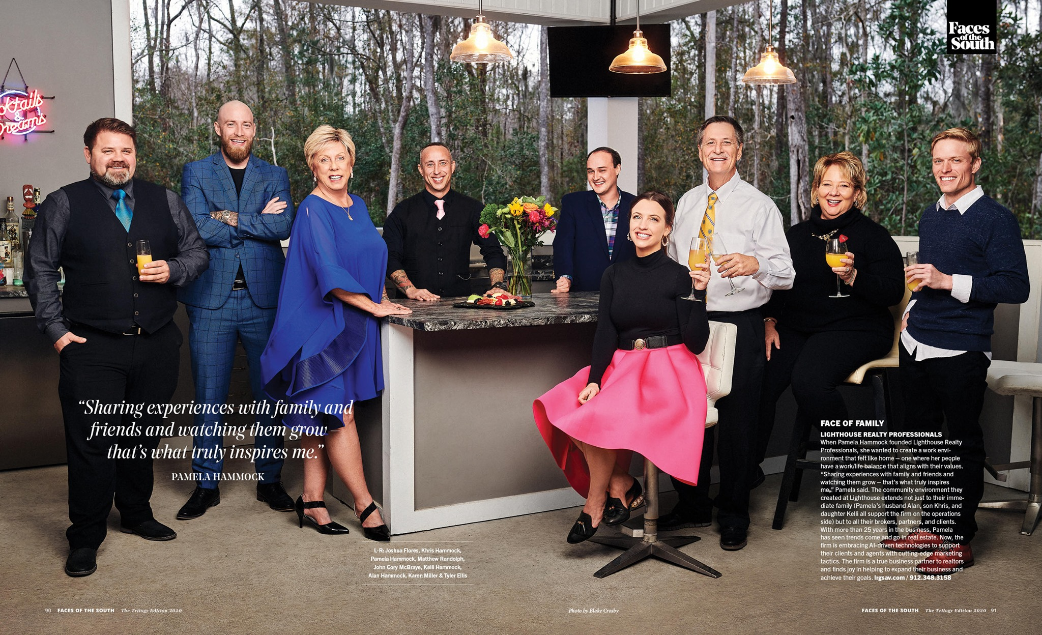 Lighthouse Realty Professionals, Faces of the South, South Magazine