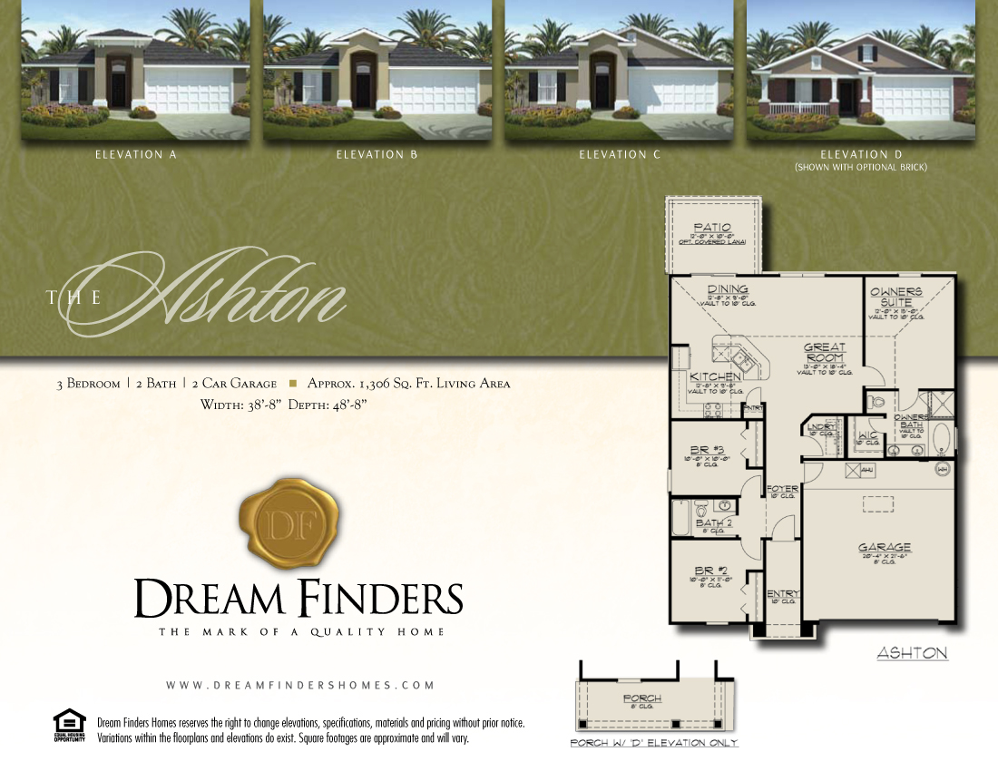 New Construction Fleming Island Dream Finders Now Selling