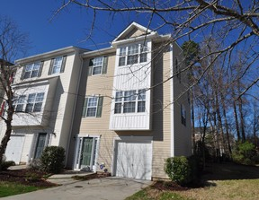 End Unit Townhome For Rent: 5157 Sandy Banks Road