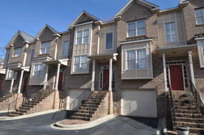 Townhome For Rent: 1322 Cameron View Court