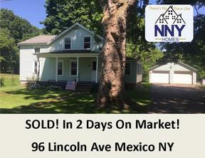 Mexico  NY Single Family Home Sold: $89,900