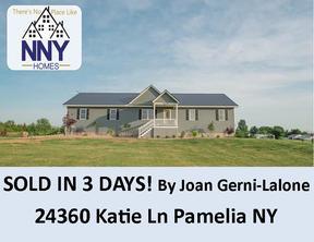 Pamelia  NY Single Family Home Sold: $289,000