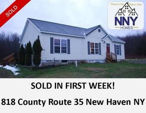New Haven NY Single Family Home Sold: $104,500