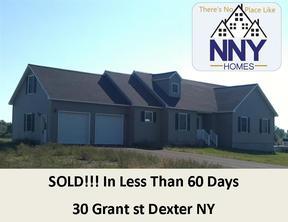 Dexter  NY Single Family Home Sold: $279,900
