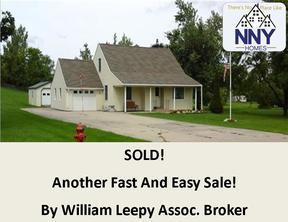 Evans Mills NY Single Family Home Sold: $170,000
