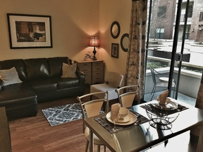 Furnished 1BDR Available 4/16 - 4/21: 1055 Pine Street #floor 3