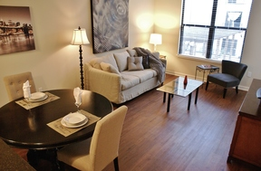 Furnished 1BDR Available June 4th: 1055 Pine Street #floor 4