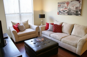 Furnished 2BDR Leased: 1055 Pine Street #floor 1