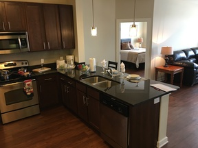 Furnished 2BDR Available 3/11- 3/28: 1055 Pine Street #floor 5
