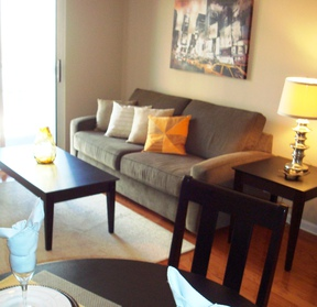 Nashville TN Furnished 1BDR Application Pending: $108 /day... City View!