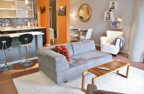Furnished 1BDR Leased: 2115 Yeaman Place #floor 2