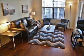 Furnished 2BDR Leased: 1055 Pine Street #floor 3