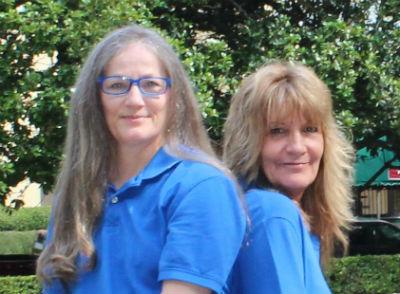 Cheryl Morris and Lawana Whaley