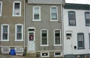 Philadelphia PA Townhouse Rented: $1,150