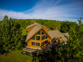 Cool & Modern A-Frame 5 ACRES! Ray-Pec Schools: 23720 S Southcrest Drive
